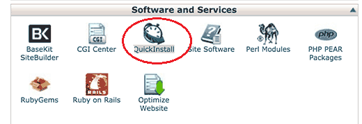 quickinstall-cpanelicon