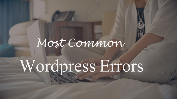 wordpress errors