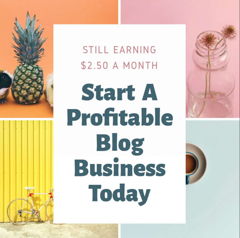 Start a blog business