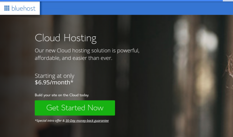 Bluehost offers discount