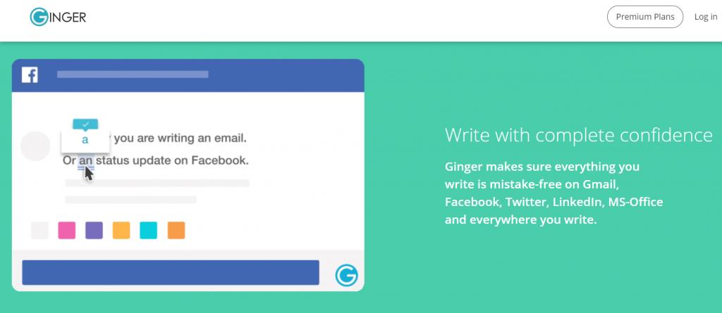 Ginger grammarly alternative